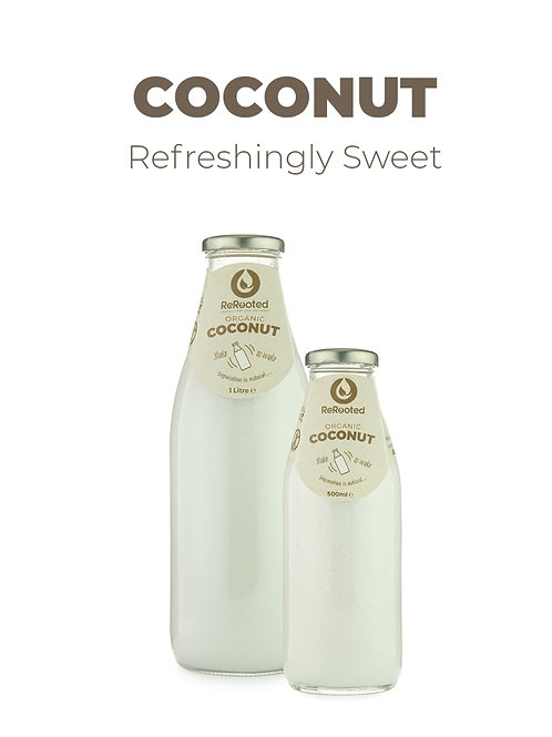 Rerooted's Organic Coconut Milk