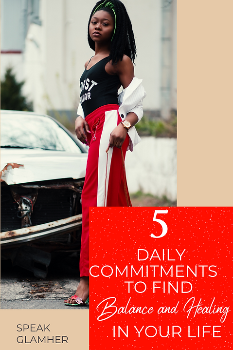 5 Daily Commitments to Finding Balance a