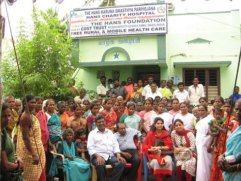 Hans Charity Hospital with THF staff.JPG