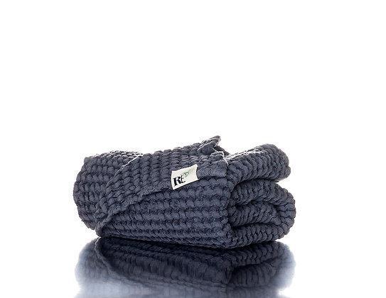 RE Smoke Linen Hand Towel