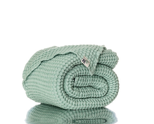 RE Mint Linen Bath Sheet