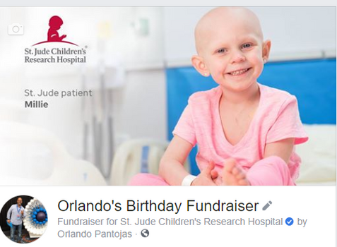 Orlando's Birthday Fundraiser