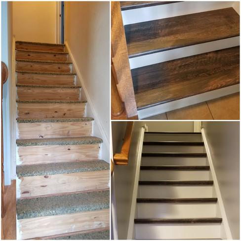 Steps remodel