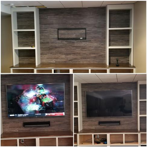Big Screen TV Setup