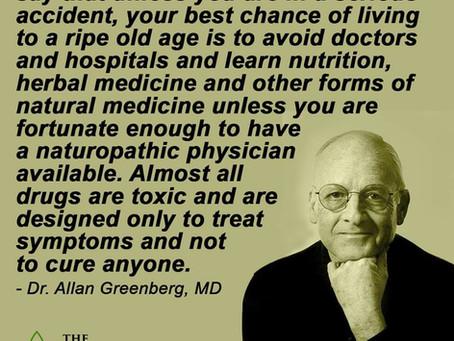 Medicin har sjældent gjort noget godt for nogen. Omsorg og nærhed, har gjort meget godt for mange.