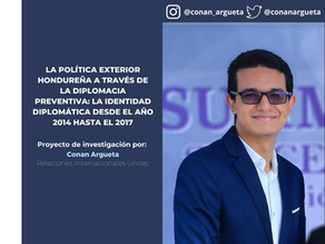 La P.E. hondureña a través de la diplomacia preventiva: La identidad diplomática de 2014 hasta 2017
