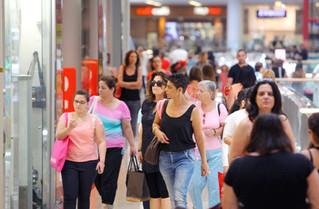 ירידה של 8.6% בפדיונות הקניונים בפסח