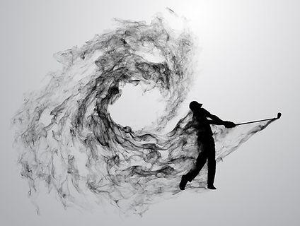 abstract-silhouette-golf-player-illustra