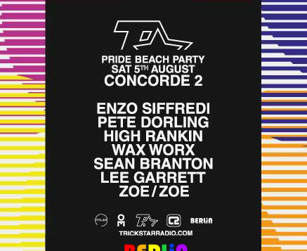 Berlin Joins Trickstar Radio For An Epic Beach Party at Concorde 2