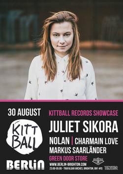 Berlin presents Juliet Sikora