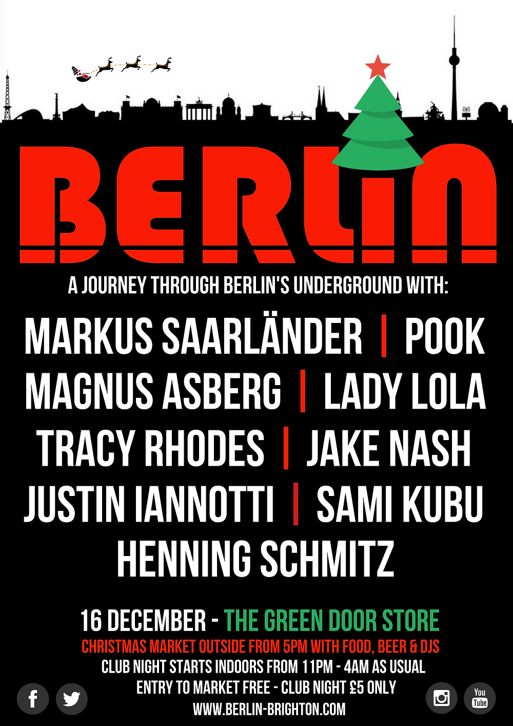 Berlin Christmas Party 2016