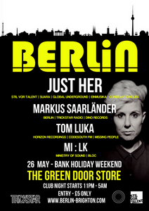 Berlin presents Just Her