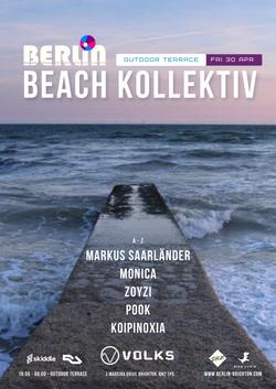 Beach Kollektiv 30 April Volks