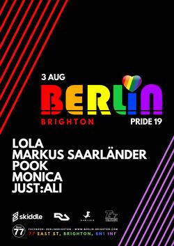 Berlin Pride Flyer