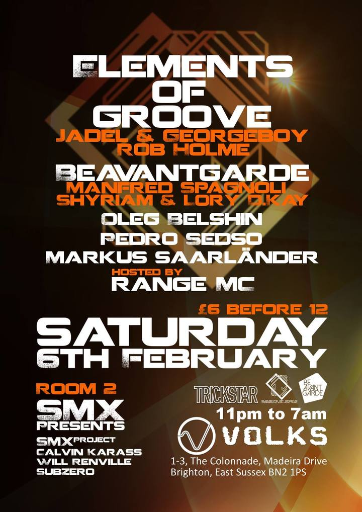 Elements of Groove February 2016