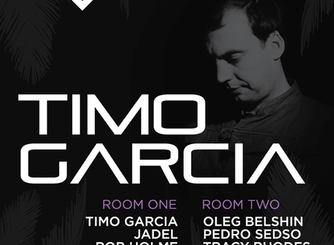 Markus to rejoin Elements of Groove @ The Volks w/ Timo Garcia