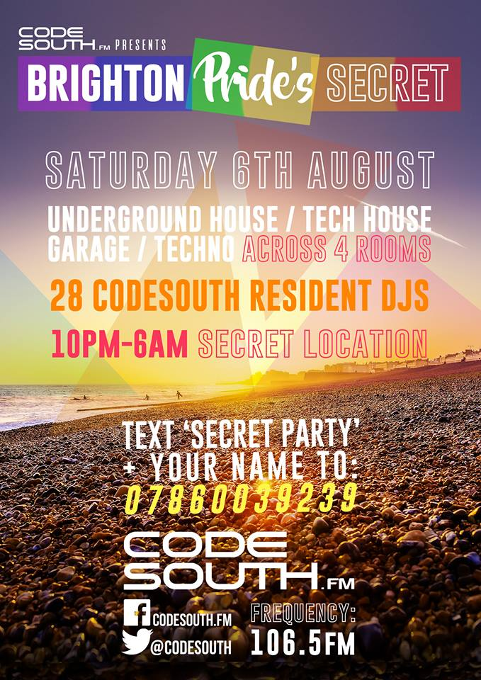Codesouth.FM Pride August 2016
