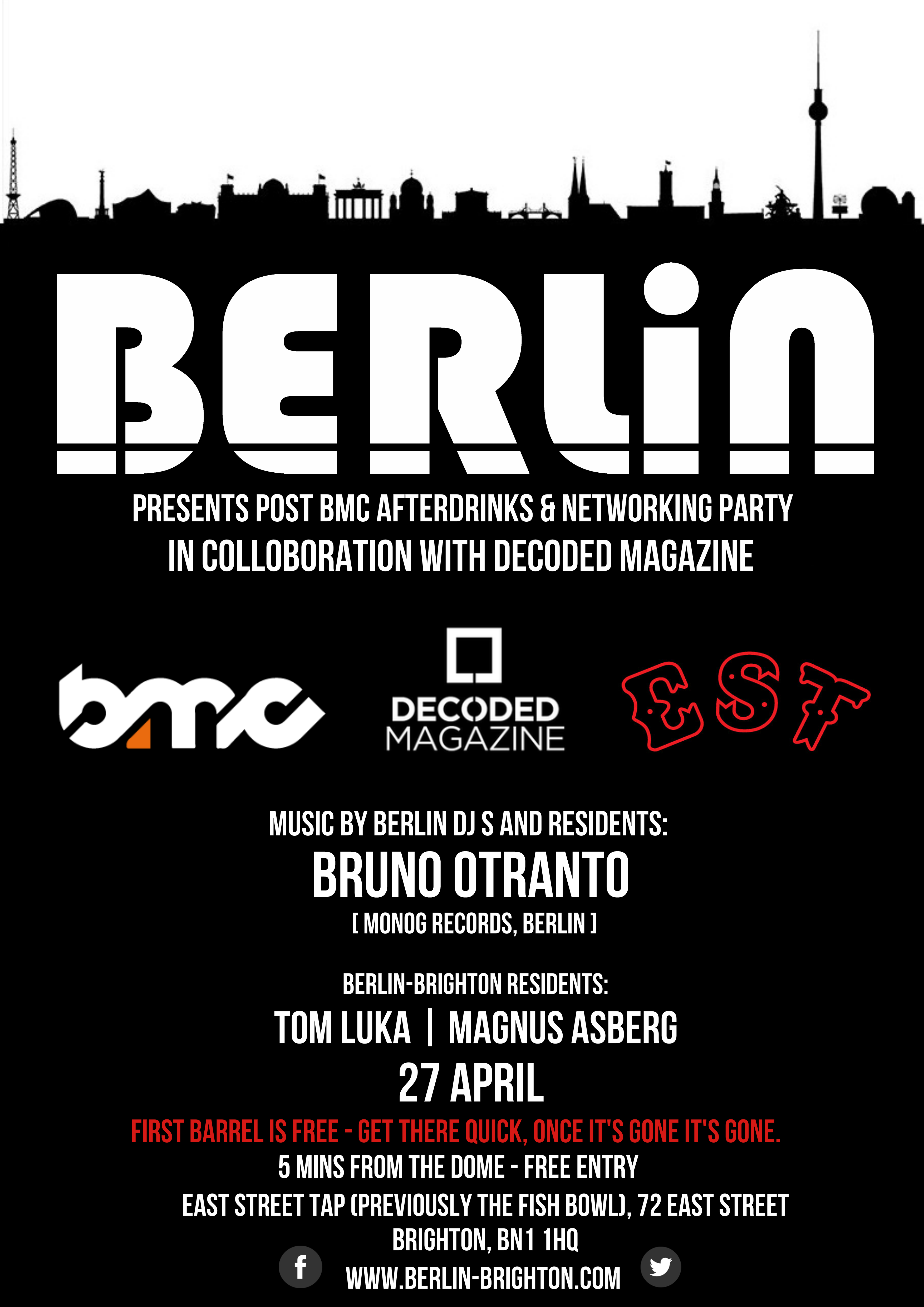Berlin BMC Afterparty Drinks