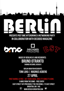 Berlin BMC Afterparty Drinks