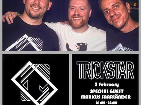 Markus Saarländer LIVE on Trickstar Radio