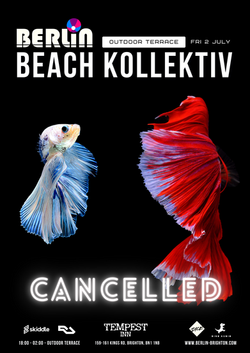 Berlin Beach Kollektiv 2 July