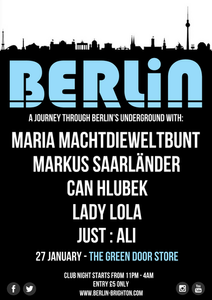 Berlin presents Maria Machtdieweltbunt & Can Hlubek