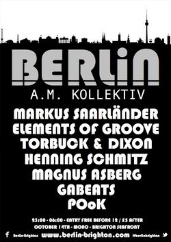 Berlin A.M. Kollektiv October 2016