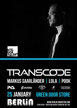 transcode flyer