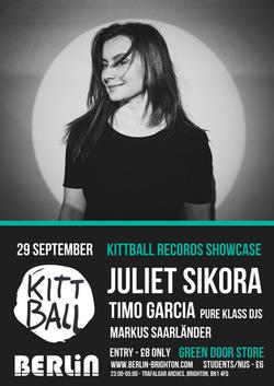 Berlin presents Kittball records