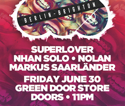 First Berlin Label Showcase: Mother Recordings w/ Nhan Solo & Superlover