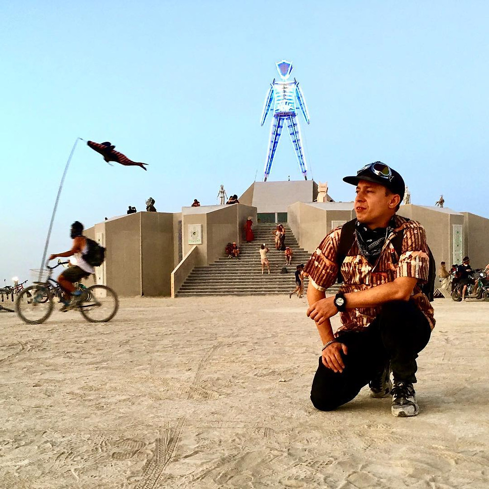 AGENT! At Burning Man