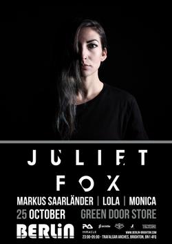 juliet fox flyer
