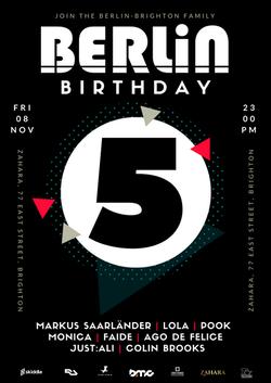 Berlin 5th Birthday