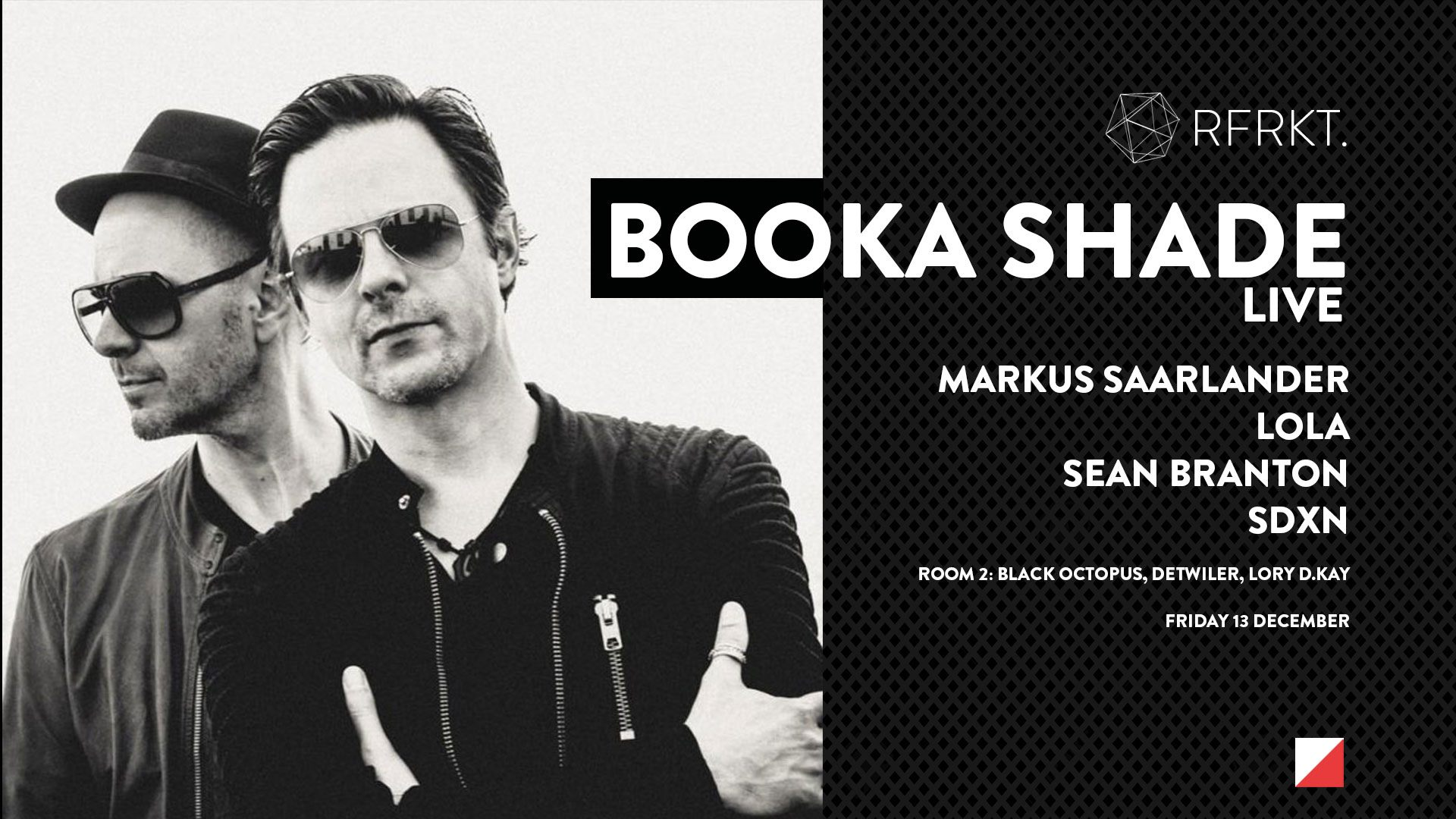 Booka Shade LIVE The Arch