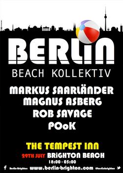 Berlin Beach Kollektiv Opening Party