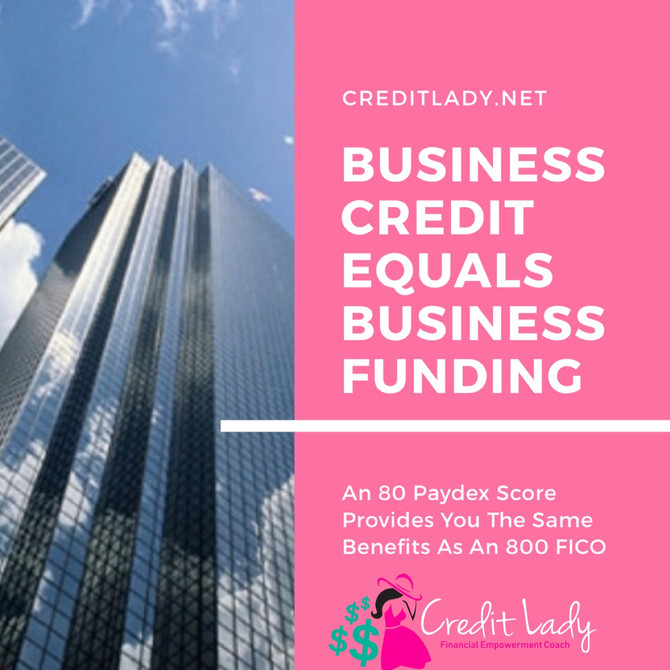 Business Credit = Business Funding