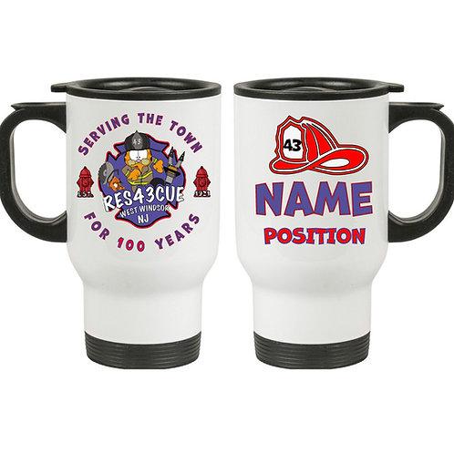 WWP FireFighter - Travel Mug 14oz. SS