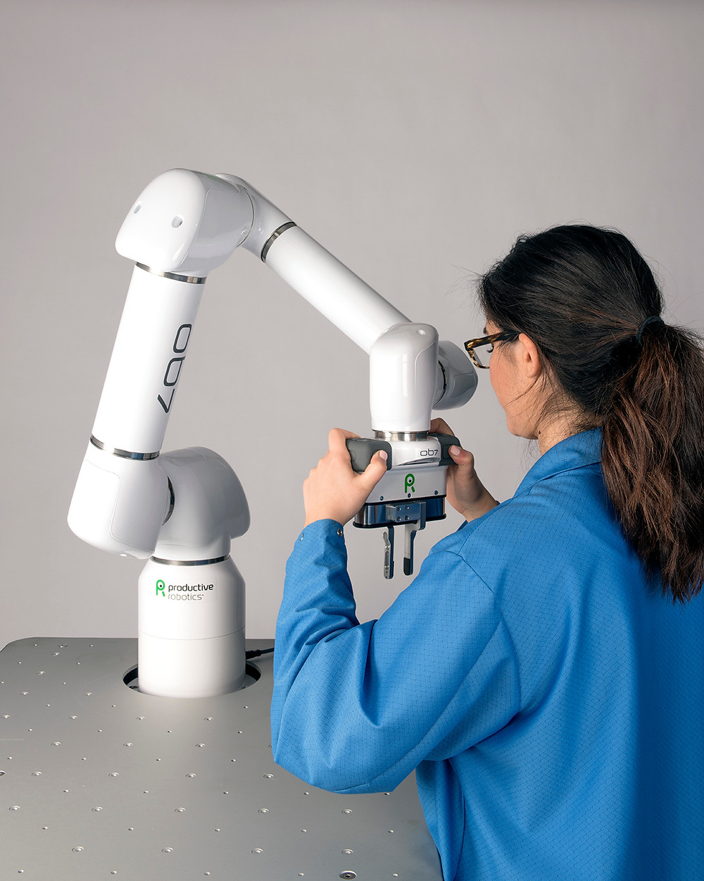No Programming Interface for Cobot Teaching