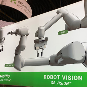 Robotics Tomorrow - Unveiling OB7-Max Cobots and Enhanced Vision System