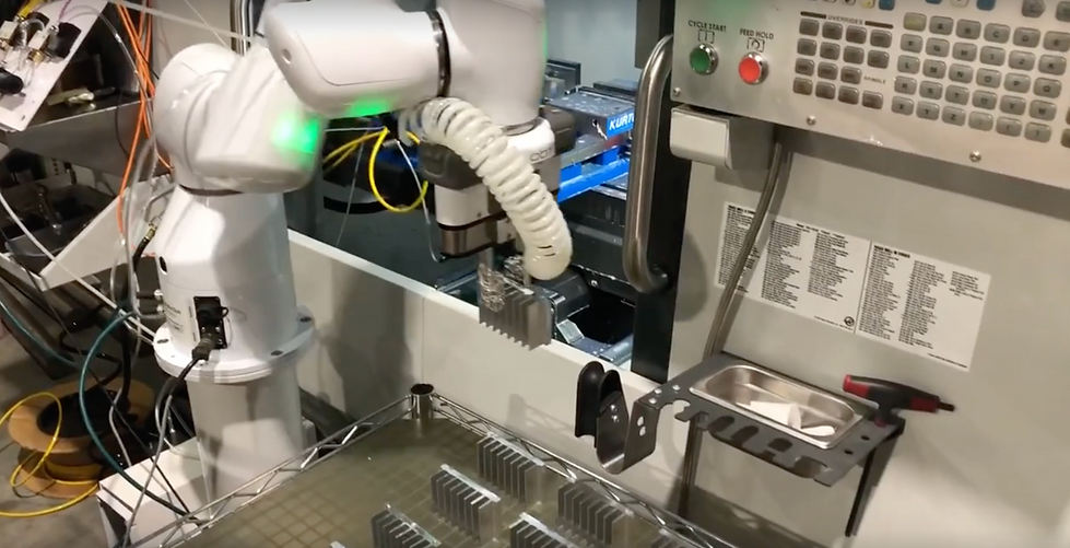 Machine Tending automation with collabor
