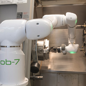 What are the Benefits of Cobots in a CNC Machine Shop?