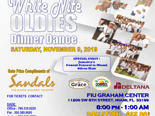2019 White Nite Oldies Dance - SAVE THE DATE