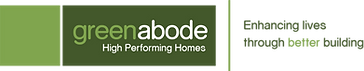 Green Abode Logo with motto FINAL RockoF