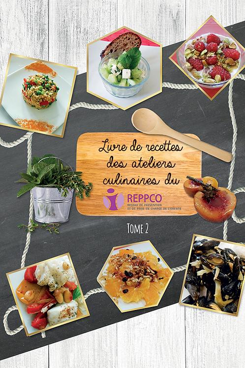 Livre de recettes des ateliers culinaires du REPPCO - Tome II