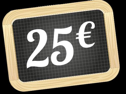 Panier de la semaine à 25 €