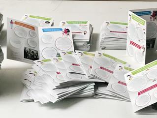 Plaquettes 4 pages, 9 modèles, des quantités à la demande