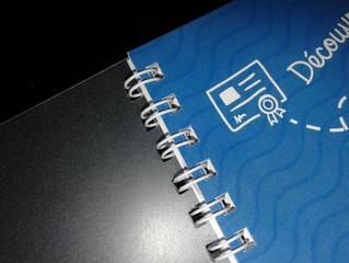 Agenda, annuaire, rapport... Reliure métal