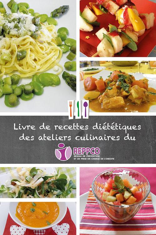 Livre de recettes diététiques des ateliers culinaires du REPPCO