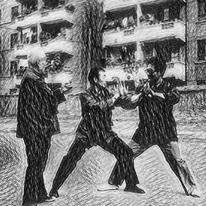 Hóng Jūnshēng: Enseñar el quán (教拳)