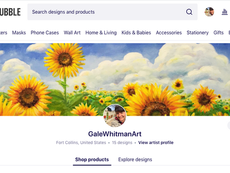 Shop my Art-Printed Products
